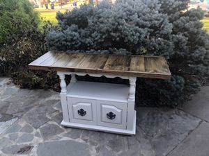 Reclaimed barn wood rustic console or entryway table for Sale in Centreville, VA