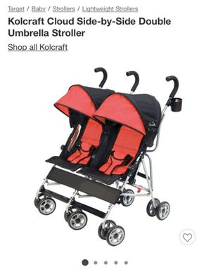 NEW: Kolcraft side-by-side double stroller: $60 for Sale in Los Angeles, CA