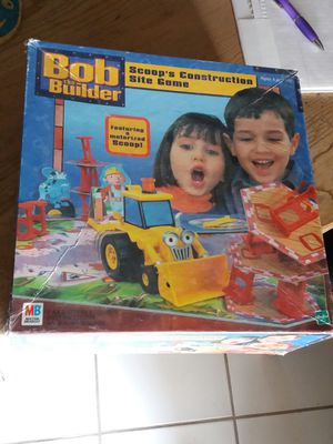 Bob the Builder-Scoop's Construction Site Board game for Sale in Tempe, AZ