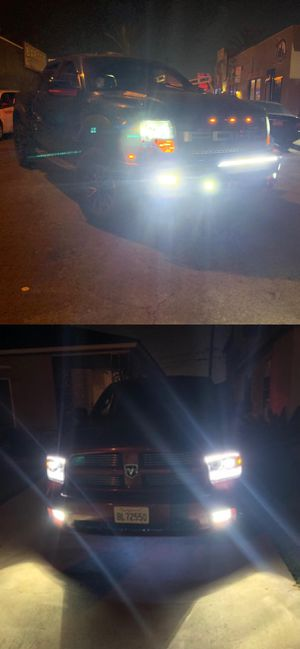 Super bright led headlights 25$ 1 year warranty plug and play for Sale in Los Angeles, CA