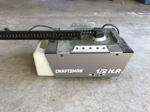 Craftsman garage door opener and remote for Sale in Saugus, MA