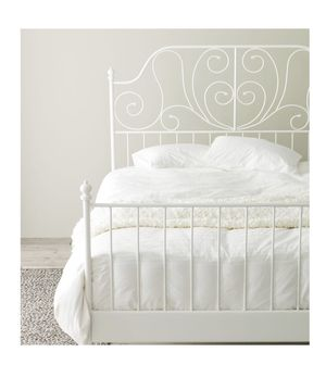 IKEA LEIRVIK full size bed frame for Sale for sale  New York, NY