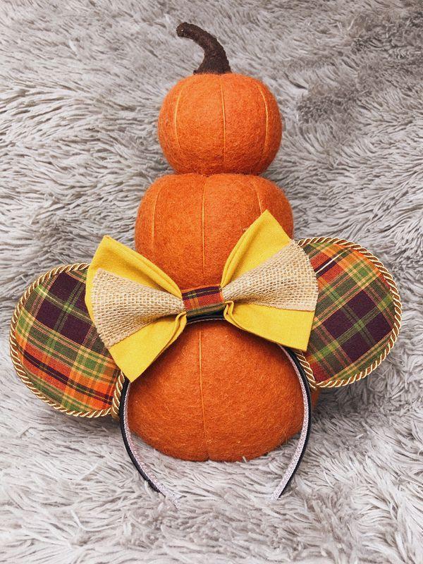 Scarecrow/Fall Disney Ears
