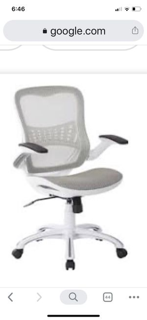 Office Chair - White for Sale in St. Louis, MO