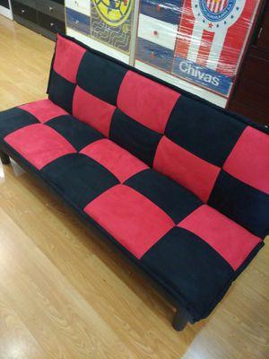 Red and Black futon for Sale in Santa Monica, CA