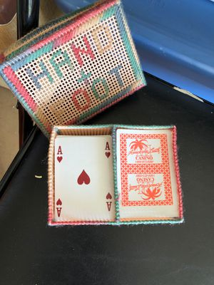 Handmade card holder and cards for Sale in Auburndale, FL
