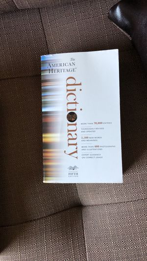 American Heritage Dictionary 5th edition for Sale in Lodi, CA