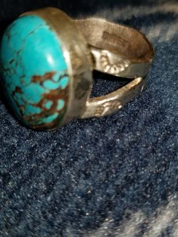 Turquoise Sterling silver Ring for Sale in Oak Lawn,  IL