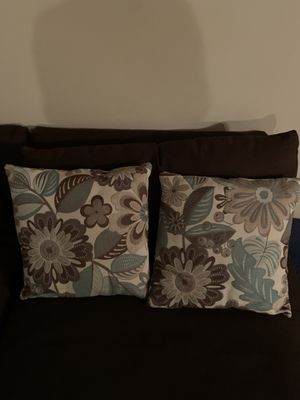 Two couch pillows for Sale in Nashville, TN