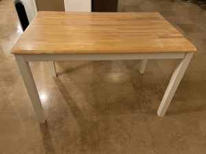 Table (solid wood) for Sale in Etiwanda, CA