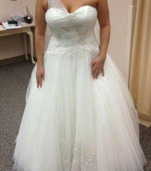 Oleg Cassini wedding dress size 18w for Sale in Las Vegas, NV