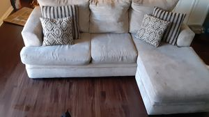 Nice sofa and dining room table with the dining room chairs for Sale in Arlington, TX