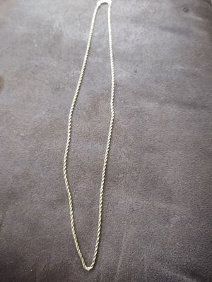 14k gold rope chain for Sale in Lake Elsinore, CA