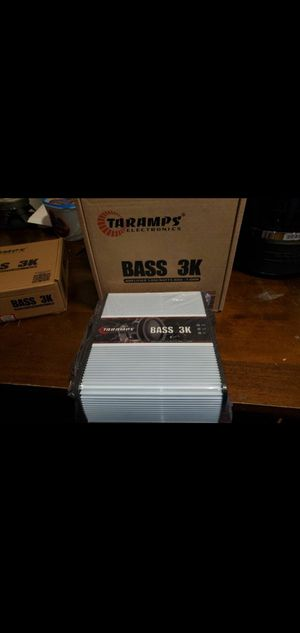 TARAMPS BASS 3K PERFECT FOR SUBWOOFER for Sale in The Bronx, NY