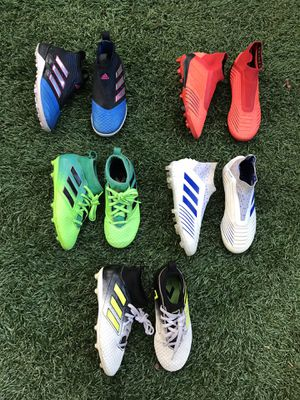 Soccer Shoes for kids,used for Sale in Marietta, GA