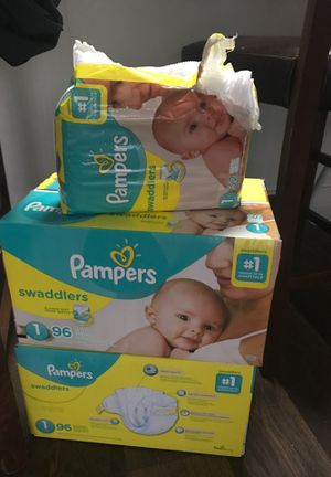 Pampers size 1 for Sale in Portland, OR