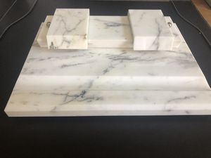 Antique marble desk pen / ink caddy for Sale in RCHO SANTA FE, CA
