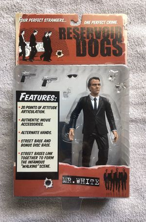 Mezco Mr. White Reservoir Dogs Figure for Sale in Livonia, MI