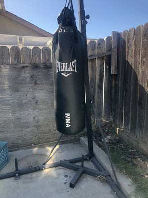 Punching bag with stand for Sale in Brentwood, CA