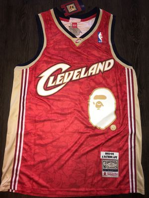 Medium, Large Cleveland Cavaliers Bape Jersey 1 for Sale in Dallas, TX