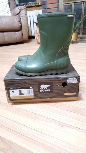 Women's Sorel Joan Rain Short Boot size 9 for Sale in Minneapolis, MN