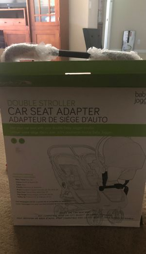 Double stroller car seat adapter for Sale in Murrieta, CA