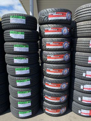 TIRES FOR SALE WITH GOOD MILEAGE LOWEST PRICES for Sale in Morada, CA