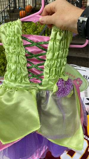 Fairy Halloween costume with wings for Sale in Frederick, MD