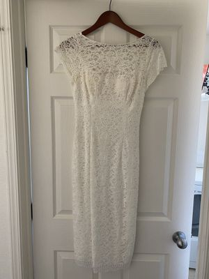 DB Studio White Lace Wedding Dress for Sale in Las Vegas, NV