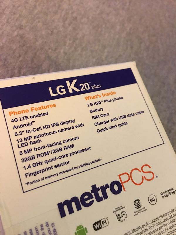 LG K20 plus MetroPCS for Sale in Manchester, NH - OfferUp