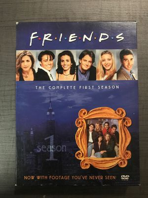 Friends Season 1 DVDs (complete) for Sale in Gilbert, AZ