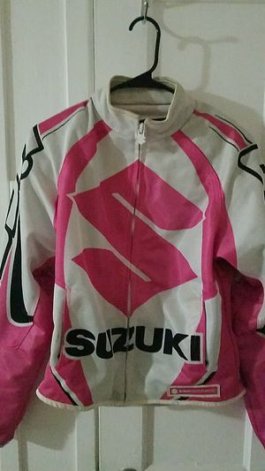 Womens Suzuki Jacket Motorcycle Yamaha kawasaki Honda KTM for Sale in Fort Lauderdale, FL
