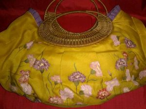 Floral Handbag for Sale, used for sale  Queens, NY