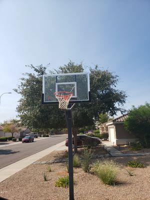 Goalrilla 60' Inground Basketball Hoop Glass Backboard for Sale in Chandler, AZ