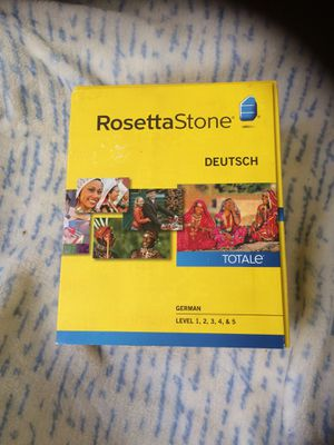 RosettaStone German Level 1-5 for Sale in Los Angeles, CA