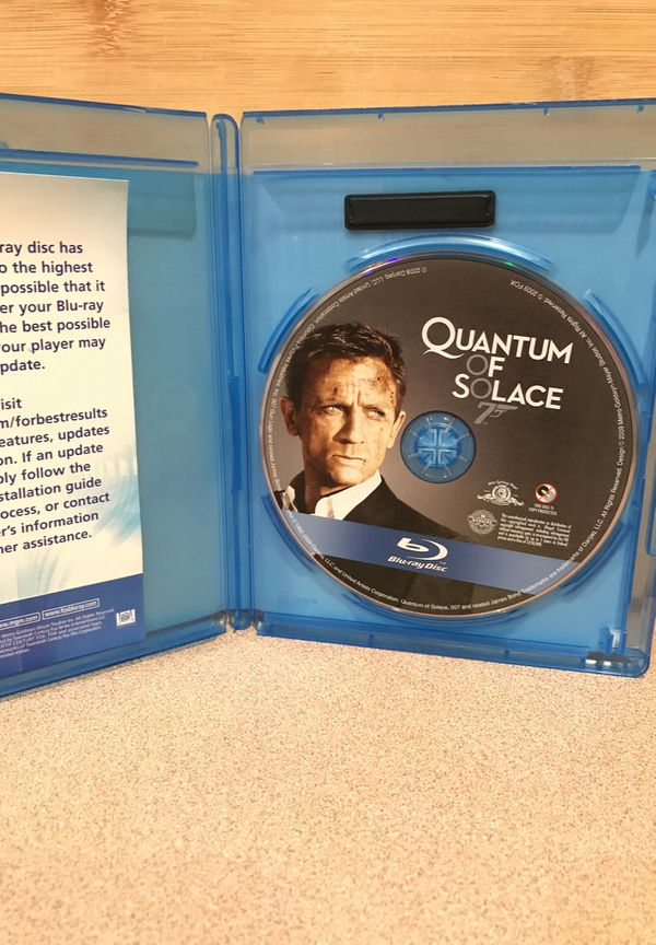 Quantum of Solace Blu-Ray with Case
