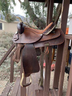 "15"" Custom Barrel Saddle for Sale in Payson, AZ"