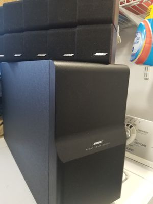 BOSE SUBWOOFER SPEAKERS SYSTEM for Sale in Brooklyn, NY