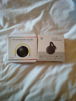 Google Chromecast/audio bundle for Sale in Goose Creek, SC