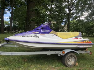 1996 Kawasaki STS 750 Jetski PWC - Complete with clean DE registration NO TRAILER for Sale in Airville, PA