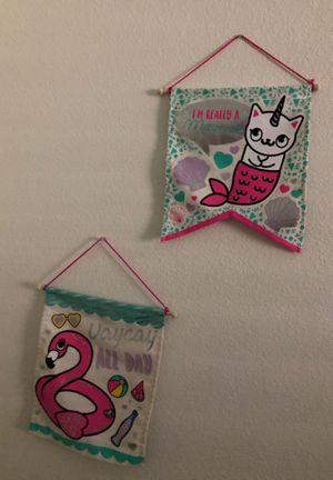 Girls room decor for Sale in Manteca, CA
