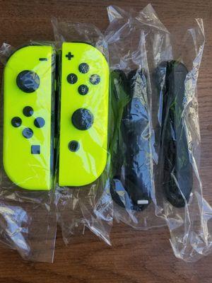 Nintendo Switch Neon Yellow Joy-Cons Like New for Sale in Rosemead, CA
