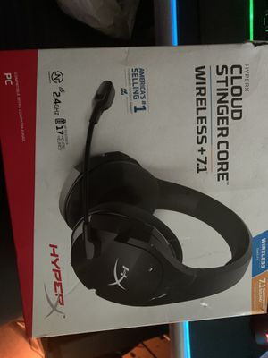 Hyper x wireless headset for pc for Sale in Houston, TX