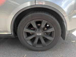 20 inch Black OEM Infiniti Rims and Tires for Sale in Haines City, FL
