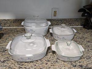 CorningWare Casserole Dish Set of 4 - Vintage / antiques for Sale in Biscayne Park, FL