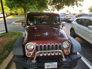 2007 Jeep Wrangler X 4x4, 6 cyl, 2-door for Sale in Pompano Beach, FL