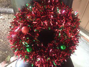 Decorative wreath for Sale in Bloomfield Hills, MI