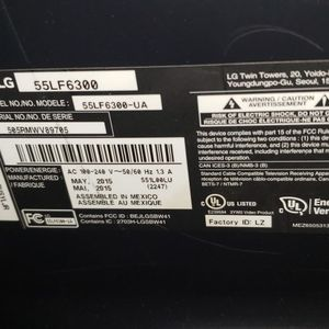 55 inch lg TV for Sale in Lake Oswego, OR