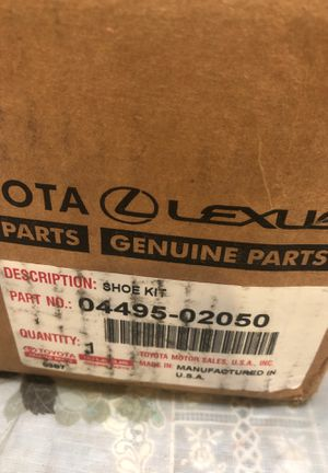 2003-4 Toyota Corolla rear brake shoes for Sale in Tacoma, WA