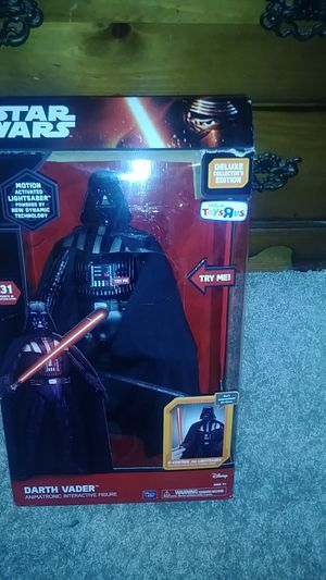 Star wars dark vader interactive figure for Sale in Waterbury, CT